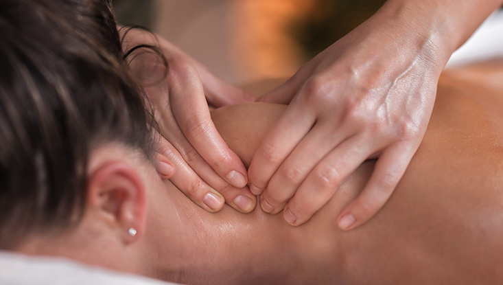Neck Sports Massage Therapy